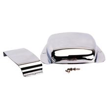 Jazz Bass Pickup Cover Bridge Cover Chrome Plated Iron Material Cover Silver все цены