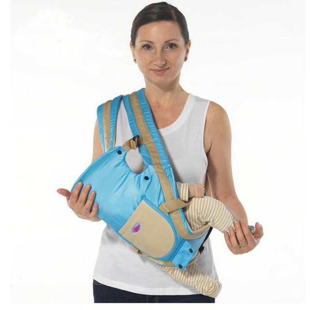 Ergonomic Baby Carrier 360 Breathable Backpack Baby Wrap Sling
