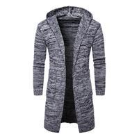 2017 Autumn Men Sweater Fashion Korean Style Long Sleeve Male Cardigan Sweater Slim Fit Casual Winter