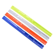 Reflective Safe Band Belt Strap Bike Wrist Leg Ankle Easy to Use High Visibility Warning Armband Cycling Camping Accessories