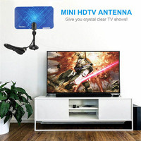 טלוויזיה אנטנה PYMH 300 Mile טווח מקורה אנטנה 1080p HDTV דיגיטלי HD Digital אנטנה טלוויזיה Skywire (3)
