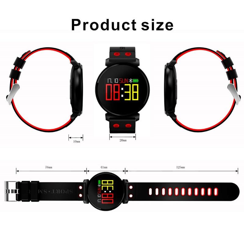 HIPERDEAL Électronique Intelligent Montres poignet La pression Artérielle détection Smart Bracelet Sommeil Coeur Taux détection de Sommeil de NOV30