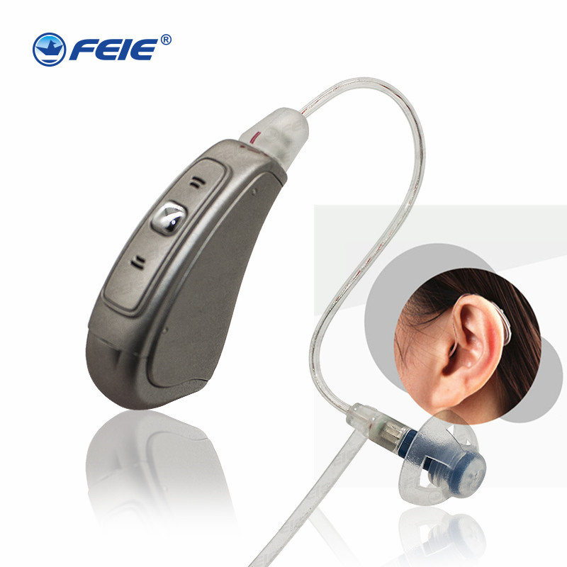 Medical Instrument RIC Enhancer Digital Amplifier MY 19 Electronic Hearing Aid Programmable Headphones Severe deaf Drop ship