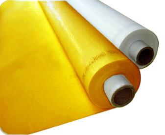 Livraison gratuite! Remise 5 mètres 300 M 120 T jaune polyester sérigraphie maille 127 CM/50