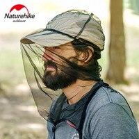 Naturehike Outdoor Bergsteigen Hut Mosquito Bee Hut Angeln Sonnencreme Gaze Maske Atmungsaktiv Hut Abdeckung