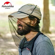 Naturehike – chapeau d'alpinisme en plein air, anti-moustique, abeille, protection solaire, masque de gaze, housse de chapeau respirante
