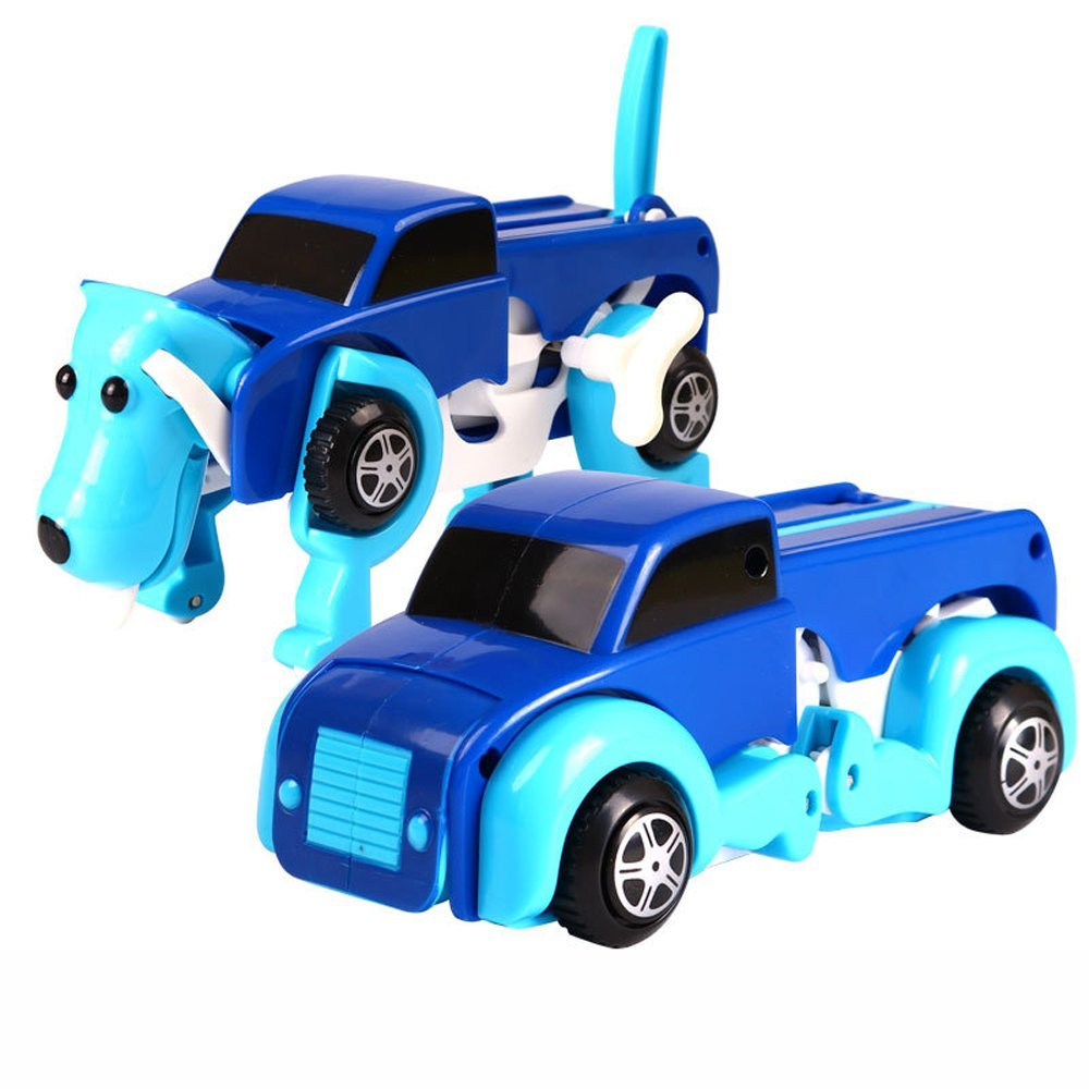 2 In 1 Rc Car Dog Transformer Transformation Robot Auto Remote Control Deformation Car Children's Birthday Gift Factory Direct Selling Price