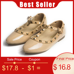 CCTWINS KIDS spring girls brand for baby stud shoes children nude sandal toddler summer shoe black white flats party shoe G358