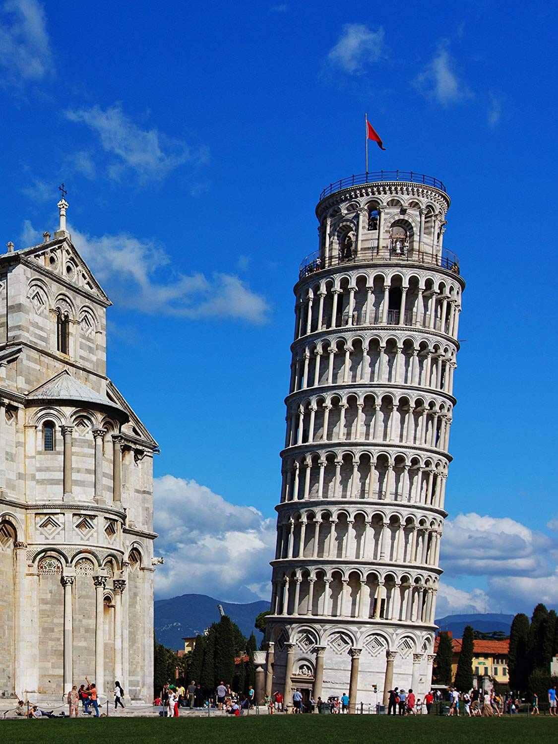 150x220cm European Building Photography Background Italy Pisa Leaning Tower Backdrop European theme Photo Studio Background in Photo Studio Accessories from Consumer Electronics