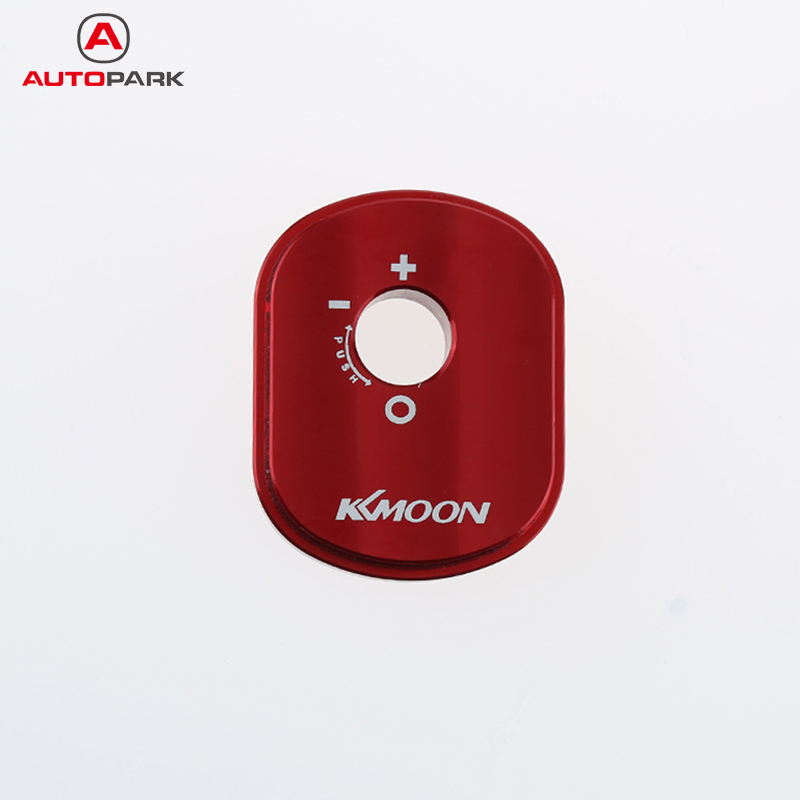KKmoon High Quality Motorcycles Aluminum Ignition Cylinder Cover for Honda Ruckus Zoomer Blue/Black/Silver/Red/Purple 11 280mm adjust air shocks clevis for honda dio 50 zx sr elite zoomer ruckus [pa80]