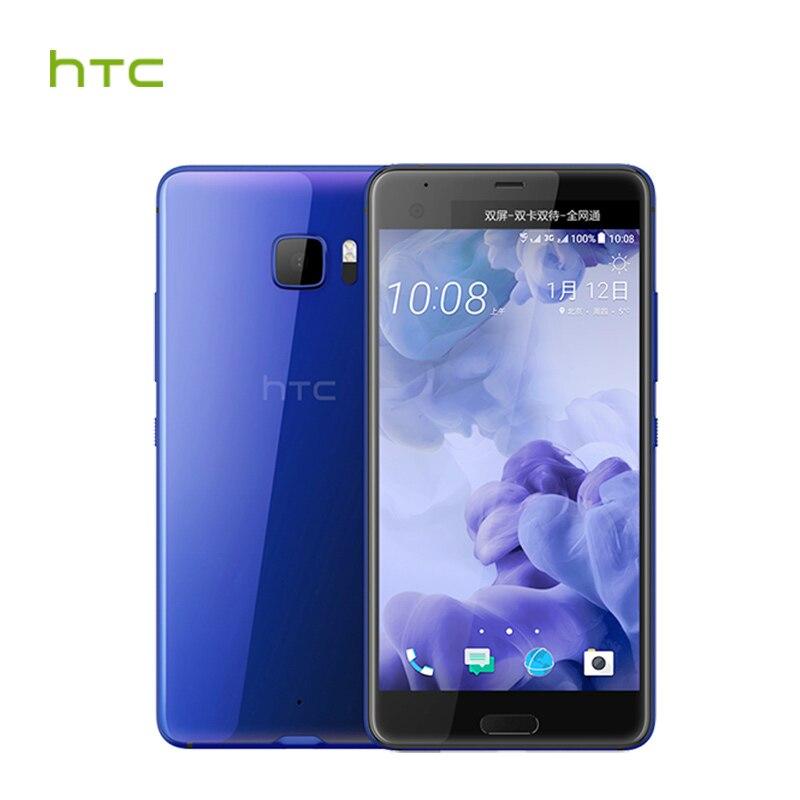 Original HTC U Ultra LTE 4GB RAM 64GB ROM Mobile Phone Snapdragon 821 Quad Core 5.7