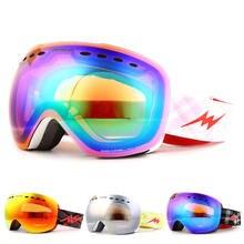 Профессиональные лыжные очки для спорта на открытом воздухе