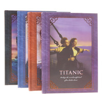 Free Shipping 1 Pcs Revisit The Classic Retro Fashion Korean Titanic Notebook Notepad Page Color Book
