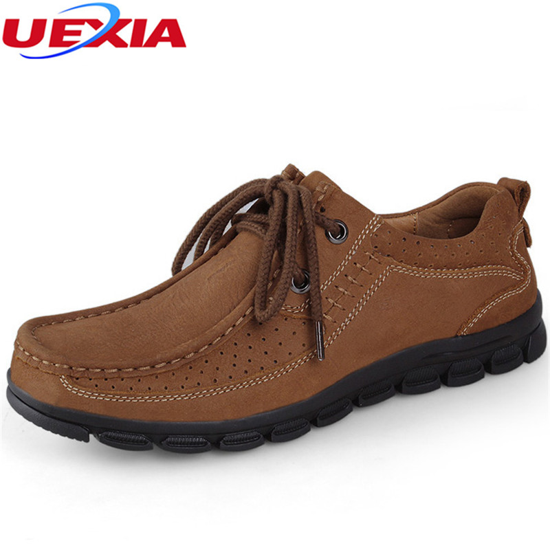 New Brand Cow Leather Men Shoes Casual Outdoor Soft Working Oxford Shoes For Men Walking Flats Dress Outdoor Mocsasins Sapatilha male casual shoes soft footwear classic men working shoes flats good quality outdoor walking shoes aa20135