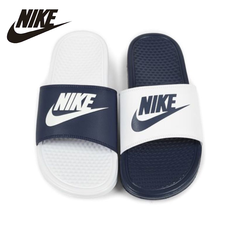 NIKE Benassi Original Lovers Beach & Outdoor Sandals Footwear Super Light Stability Support Sports Sneakers For Men Shoes ...