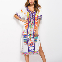 YD & YDBZ дизайнерское Новое свободное Макси платье с круглым воротником Harajuku в винтажном стиле женская одежда мода плюс размер женская улична