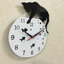 Diy Clocks Watches Pared Stickers Mirror Horloge-Needle Acrylic Living-Room Modern Reloj