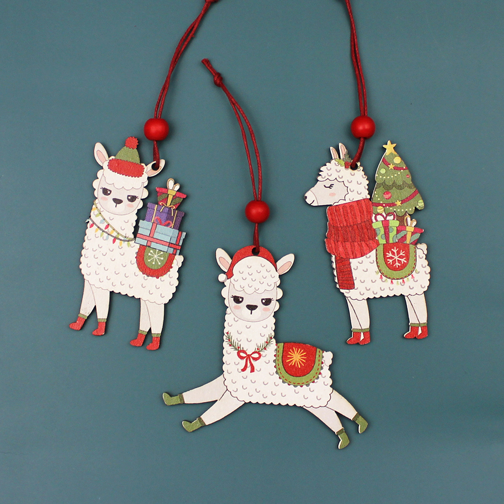Wooden Pendants Ornaments