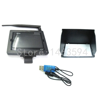 FPV monitor set for WL Q303 RC Drone spare parts WLtoys Q303 Q303A Q303B Q303C Real time image receiving device Free shippiing