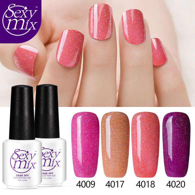 2017 New Trend Hot Sales Neon Nail Gel Magic Glaring UV Gel Polish ...