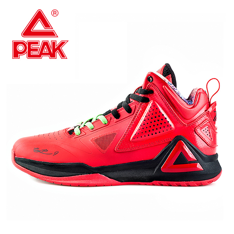 PEAK Tony Parker TP9 COSTAR Professional Player Basketball Shoes Men Gradient Dual FOOTHOLD Tech Athletic Sneakers EUR 40-50 peak sport lightning ii men authent basketball shoes competitions athletic boots foothold cushion 3 tech sneakers eur 40 50