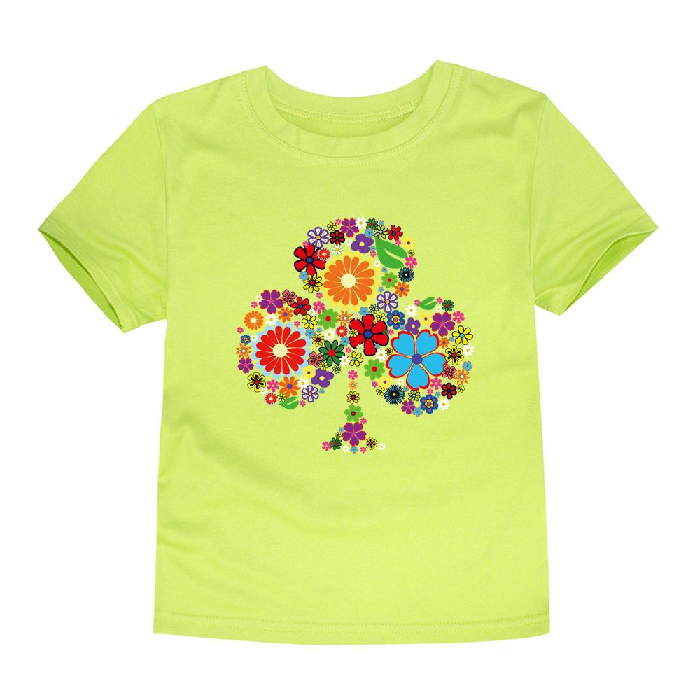 HTB1FvkiRFXXXXXtXpXXq6xXFXXXq - TINOLULING 2018 Summer Kids Flower Tree T-Shirt Boys Girls Tree T Shirt Children Tops Baby Tees For 2-14 Years