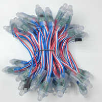 1000pcs 12MM WS2811 Full Color LED Pixel Module Waterproof IP68 DC12V Input 50pcs a string RGB LED Module for Advertising Letter