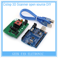3D printer parts Ciclop 3d scanner open source DIY accessories,UNO controller and ZUM Scan Expansion board kits