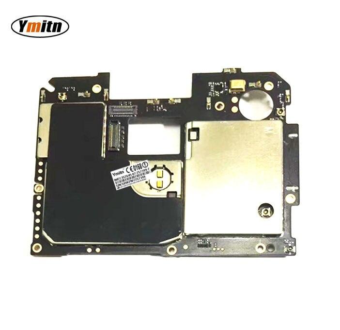 Ymitn Débloqué Mobile Électronique Panneau Carte Mère Carte Mère Circuits Flex Câble Avec Firmware Pour Meizu MX6 32 GB