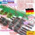 3 juegos de guía lineal cuadrada L-400/700/1000mm y 3 piezas de tornillo de bola 1605-400/ 700/1000mm con tuerca y 3 set BK/B12 y acoplamiento para CNC