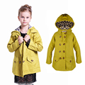 Kids Coat For Girls Outwear Long Sleeve Windcoat Spring Autumn Child Trench Coat School uniform Children 6 7 8 9 10 11 14 Years