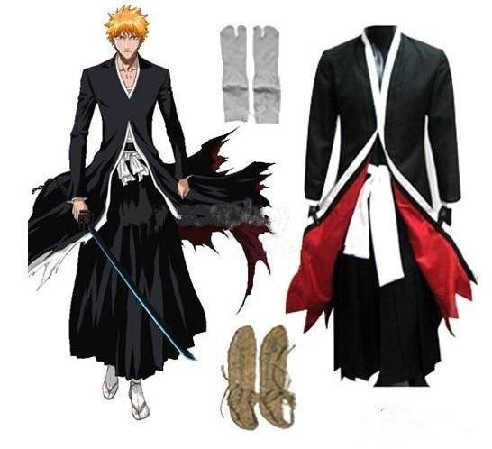 Stock! Kostenloser Versand! Neueste! Anime Bleach Cosplay - Bleach - Kostüme