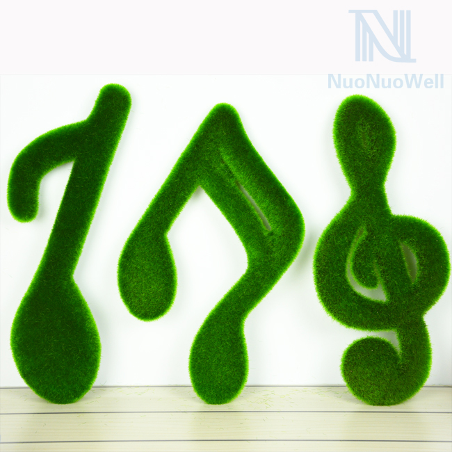 Home Desktop Christmas Idea Gift Decor Turf Music Notes 3 Kinds Avilable ...