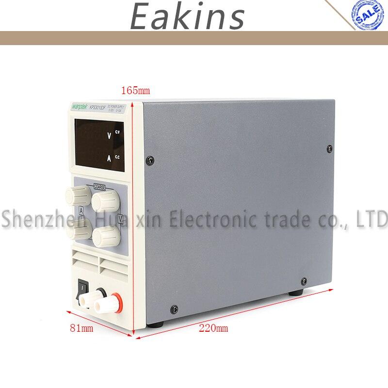 KPS-3010D KPS-3010DF Mini Digital ajustable laboratorio DC fuente de alimentación 30 V 5A 10A 110 V-220 V de conmutación fuente de alimentación 0,1 V/0.01A - 2