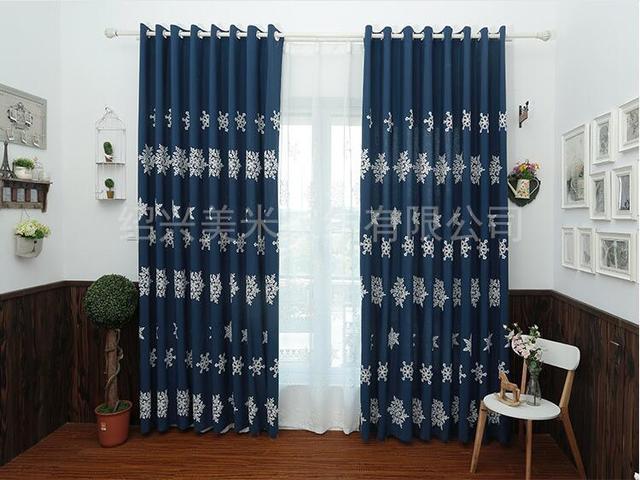 Verduisterings Gordijn 6 : Sneeuwvlok verduisteringsgordijn cortinas herfst winter