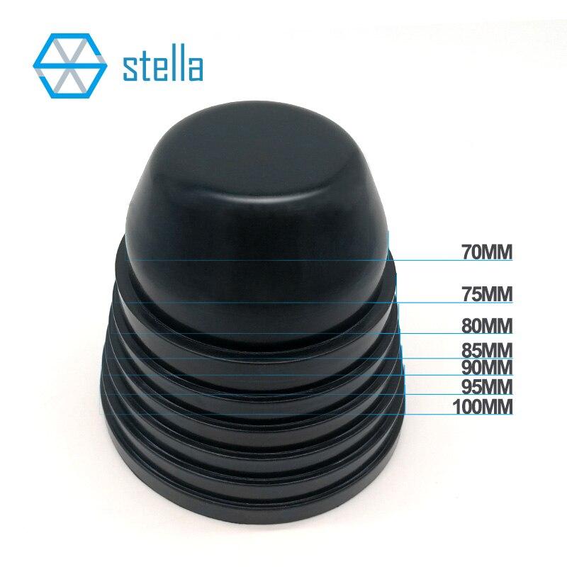 2 stücke universal LED/HID scheinwerfer gummi staubdicht abdeckung wasserdichte kappe 70mm 75mm 80mm 85mm 90mm 95mm 100mm thermostabilität