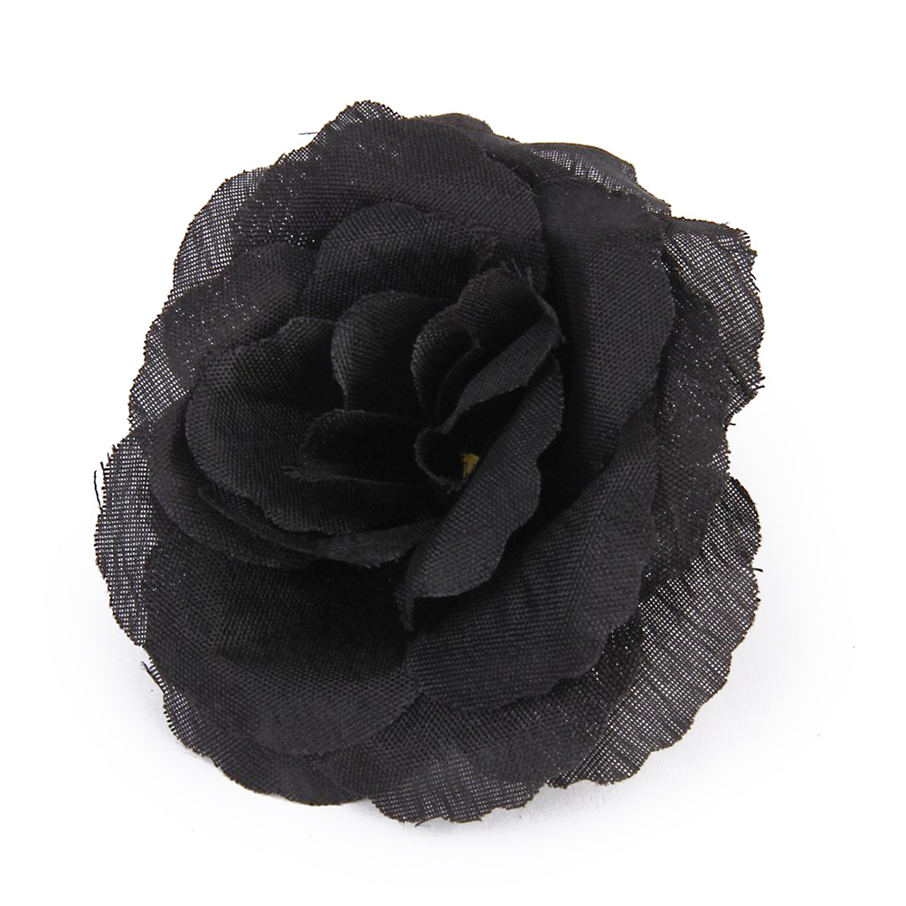 20pcs high quality rose silk flower wedding diy party house office 20pcs high quality rose silk flower wedding diy party house office shop garden decoration black in artificial dried flowers from home garden on mightylinksfo