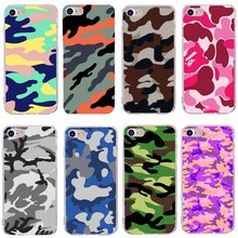 Army Green Camouflage Case For iPhone X 5 5s se For iPhone 6 6S 7 8 Plus Soft TPU Phone Cases Back Cover For iPhone7 Accessories стоимость