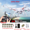 SYMA X5SW Drones FPV con cámara hd FPV Quadcopter 6-Axis Drone Con Cámara WIFI En Tiempo Real de Vídeo RC Helicóptero Quadrocopter dron