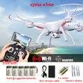 SYMA X5SW FPV Drones com câmera hd FPV Quadcopter 6-Axis zangão Com Câmera WI-FI Em Tempo Real de Vídeo RC Helicóptero Quadrocopter dron
