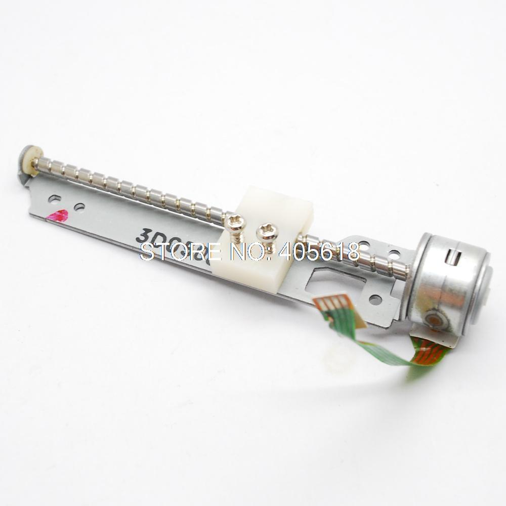 4 5v Dc 2 Phase 4 Wire Stepper Motor Stepping Motor Drive Motor With Long 74mm Screw Rod Diy