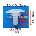 20x OEM Nylon Fastener Rivet Clipe Weatherstrip Retentor para Toyota 67868-89101 67867-28030 67867-89103 para Mazda G031-58-762