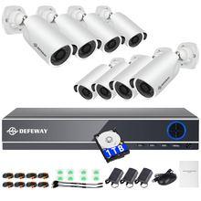 Камера видеонаблюдения defeway 8 каналов 1080p dvr шт 2 МП ночное