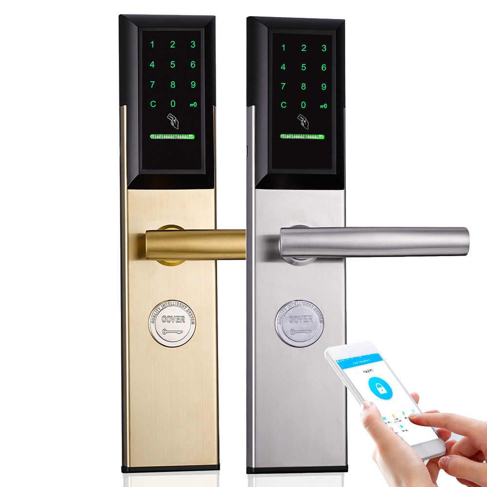 Wifi Intelligente Digitale di Sicurezza Porta Serrature, Smart Home, Casa Intelligente password di Blocco Spille Codice Digitale Serratura elettronica con TT blocco App