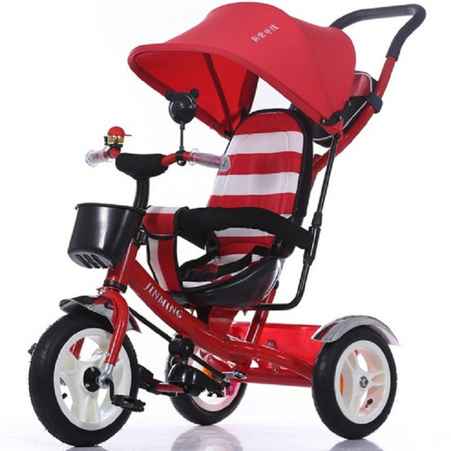 2016 New Ultra Light three Wheel  Children Stroller Baby Stroller Car Kid Carriage Buggy Pram High quality 1-5 years