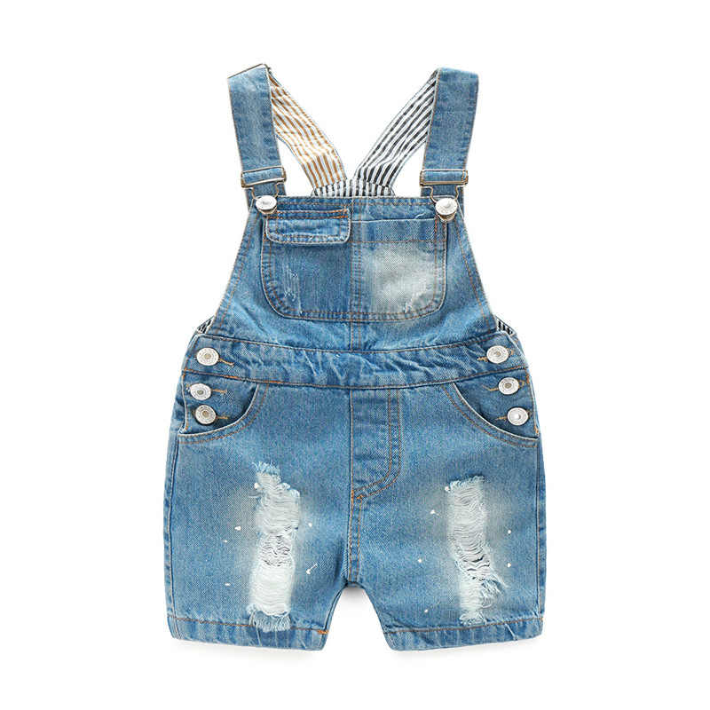 b89bd8f64 Detail Feedback Questions about Kids Denim Jumpsuit 2018 New Fashion ...