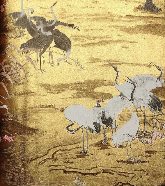 CY291 Gold foil wall paper, Chinese style vinyl wall paper, Luxury ...