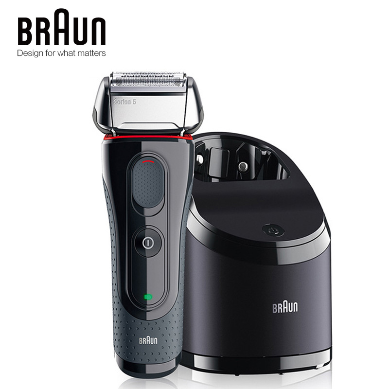 Braun Electric Shaver 5050cc Safety Waterproof Shaving Razor Popular Styling Tools For Men Reciprocating Automatic Clean Charge