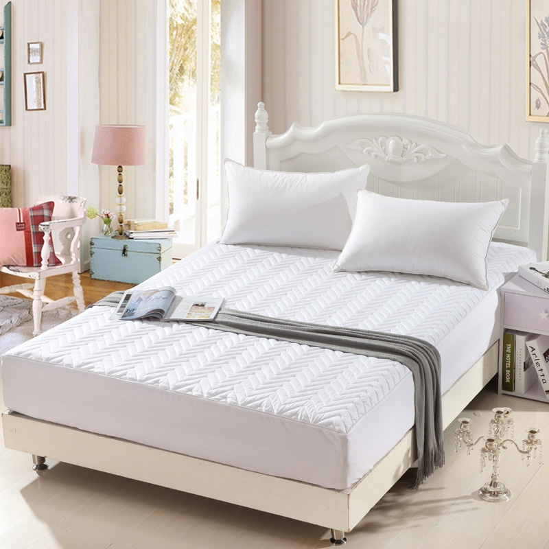 Bed Protection Pad 100 Cotton Twin Single Full Queen King