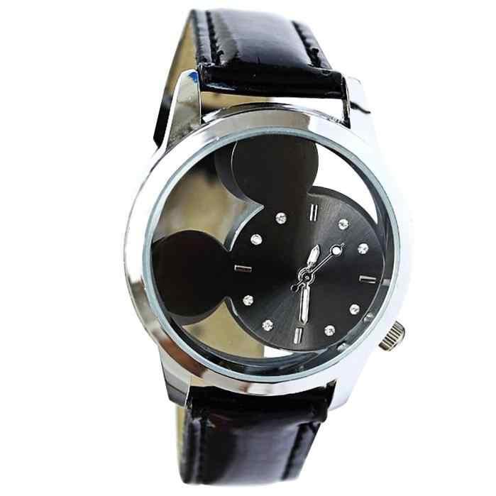 2017 Relogio Feminino kobiety analogowy zegarek kwarcowy Dial godziny zegarek cyfrowy zegarek z paskiem skórzanym Reloj Mujer okrągły zegar czasu pani prezent